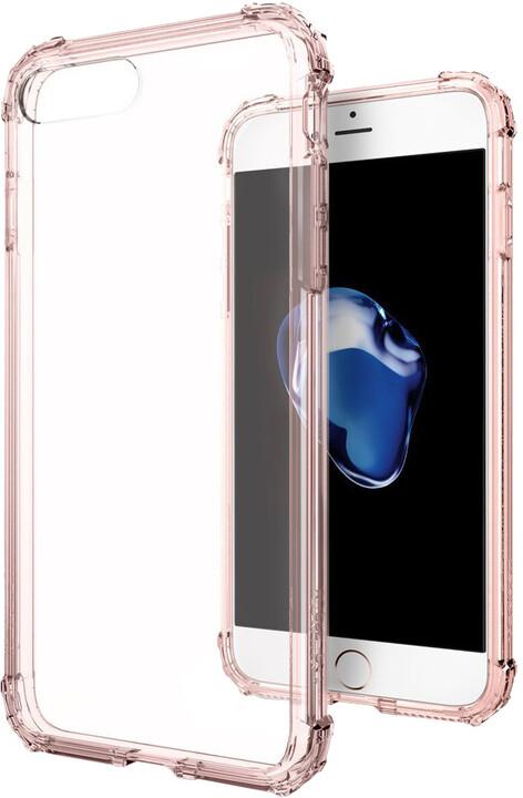 Spigen Crystal Shell pro iPhone 7 Plus, rose crystal