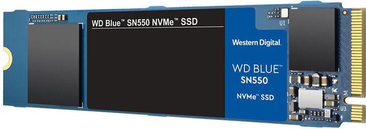 WD SSD Blue SN550, M.2 - 250GB