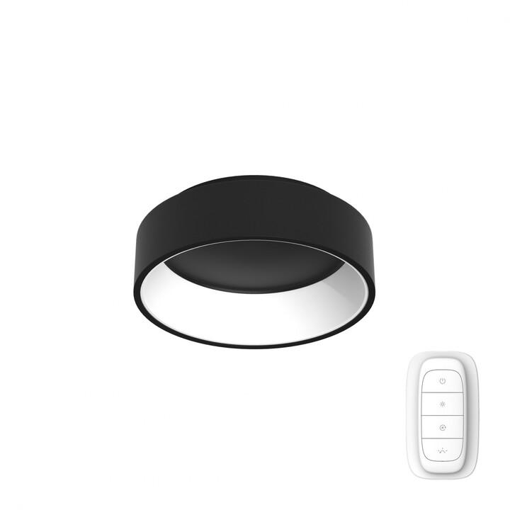 IMMAX NEO AGUJERO Smart stropní svítidlo 45cm 30W, černá