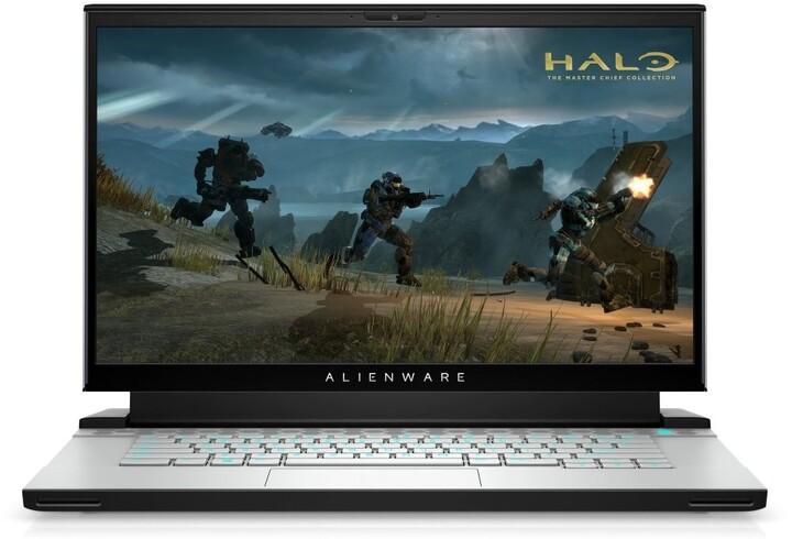 Dell Alienware m15 R4, stříbrná
