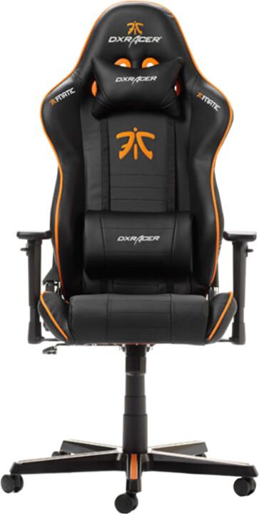 DXRacer Racing OH/RZ58/N, FNATIC Edition, černá/oranžová