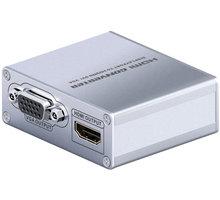 PremiumCord adaptér Mini DisplayPort - HDMI + DVI + VGA kportadm06