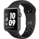 Apple Watch Nike+ Series 3 GPS 42mm antracitový/černý sportovní řemínek Nike