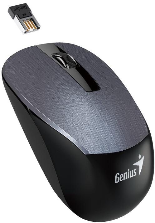 Genius NX-7015, bezdrátová, šedá