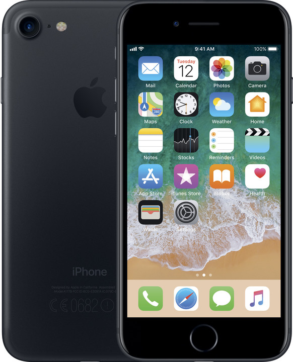 Apple iPhone 7, 128GB, černá