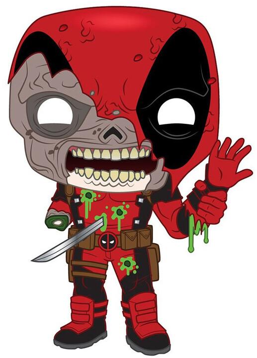 Figurka Funko POP! Marvel Zombies - Deadpool