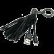 MIZOO USB/microUSB přívěsek X900, černý