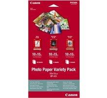Canon Foto papír VP-101, 10x15 cm, Variety pack - 0775B078