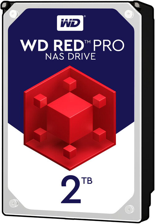 """WD Red Pro (FFSX), 3,5"""" - 2TB"""