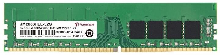 Transcend 32GB DDR4 2666 CL19