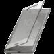 Sony Touch Style Cover pouzdro SCTG50 pro Xperia XZ1, stříbrná