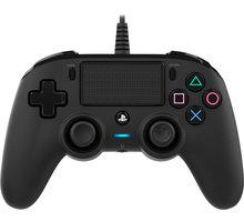 Nacon Wired Compact Controller, černý (PS4)