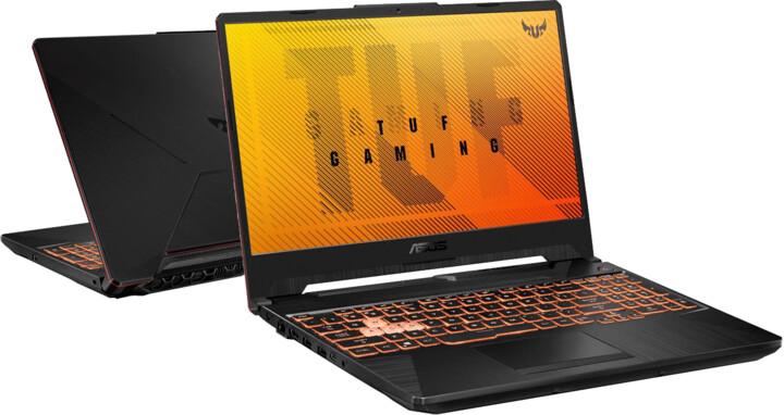 ASUS TUF Gaming A15 (2021), černá
