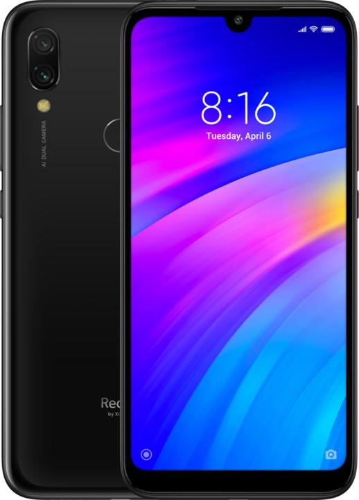 Xiaomi Redmi 7, 3GB/32GB, černá