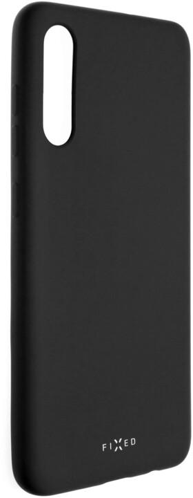 FIXED Story zadní pogumovaný kryt pro Samsung Galaxy A70s, černá