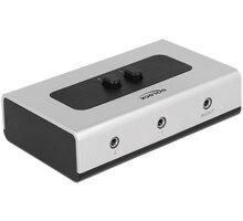 DeLock Stereo Jack 3.5 mm, 2-portový