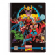 Zápisník Marvel Comics: Avengers, čtverečkovaný, kroužková vazba, A4