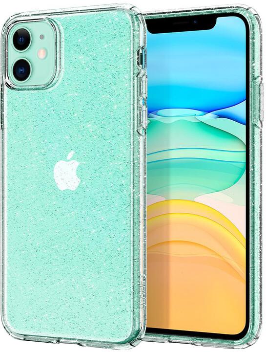Spigen Liquid Glitter iPhone 11, čiré