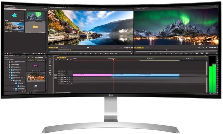 """LG 34UC99-W - LED monitory 34"""""""