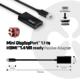 Club3D Mini DisplayPort 1.1 na HDMI 1.4 VR (Virtual Reality), pasivní adaptér, 20cm