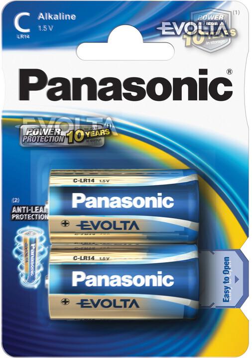 Panasonic baterie LR14 2BP C Evolta alk