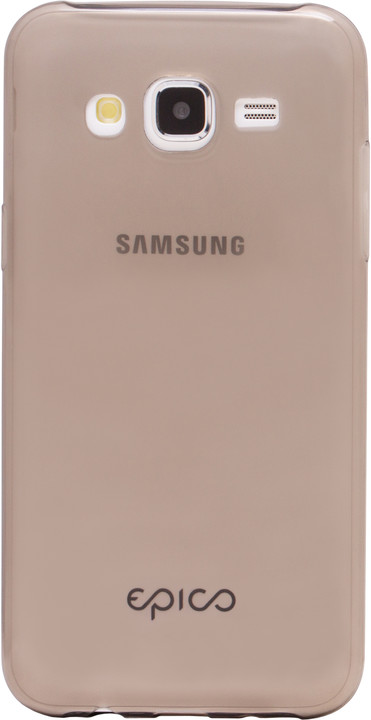 EPICO plastový kryt pro Samsung J5 RONNY GLOSS, černá - transparentní