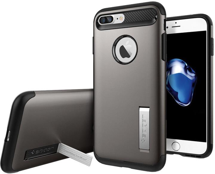 Spigen Slim Armor pro iPhone 7 Plus, gunmetal