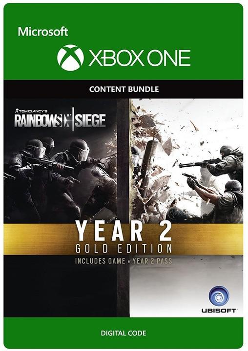 Tom Clancy's Rainbow Six Siege Year 2 Gold Edition (Xbox ONE) - elektronicky