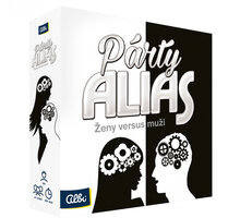 Desková hra Albi Párty Alias Ženy versus Muži (CZ) - 73671