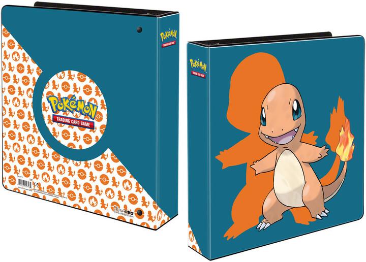 Album Pokémon: Charmander, A4, kroužkové