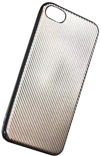 Forever silikonové (TPU) pouzdro pro Samsung Galaxy S7, carbon/champagne