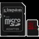 Kingston Micro SDHC 32GB Class 10 UHS-I U3 + SD adaptér