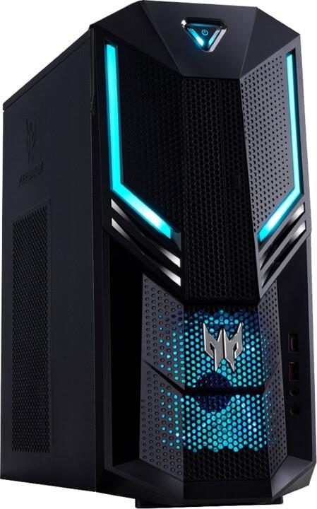 Acer Predator Orion PO3-600, černá