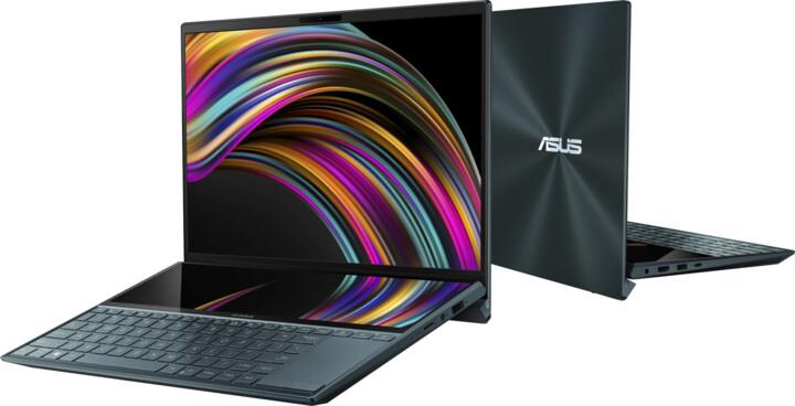 ASUS ZenBook Duo UX481FL Touch, modrá