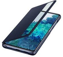 Samsung flipové pouzdro Clear View pro Galaxy S20 FE, modrá O2 TV Sport Pack na 3 měsíce (max. 1x na objednávku)