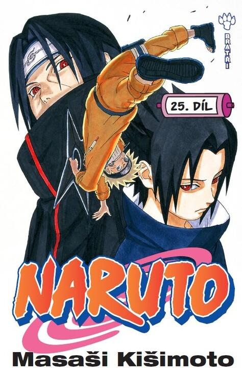 Komiks Naruto: Bratři, 25.díl, manga