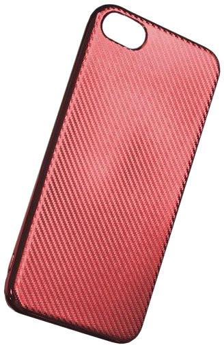 Forever silikonové (TPU) pouzdro pro Apple iPhone 7 PLUS, carbon/červený