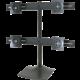 Ergotron DS100 Quad-Monitor Desk Stand - Stojan pro čtyři ploché panely, černá - hliník, ocel  + Voucher až na 3 měsíce HBO GO jako dárek (max 1 ks na objednávku)