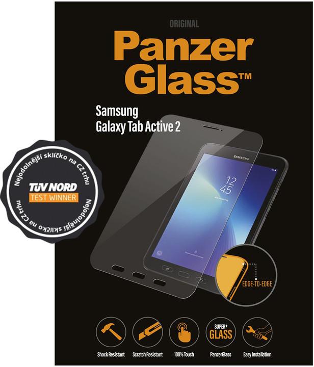 PanzerGlass Edge-to-Edge Samsung Galaxy Tab A (8.0, 4G), čiré