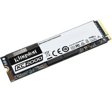 Kingston KC2000, M.2 - 500GB