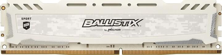 Crucial Ballistix Sport LT White 4GB DDR4 2666
