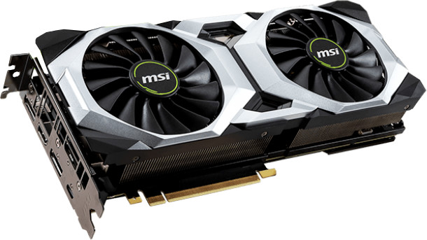 MSI GeForce RTX 2080 VENTUS 8G, 8GB GDDR6