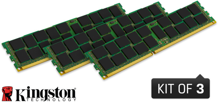 Kingston System Specific 48GB (3x16GB) DDR3 1333 ECC brand HP
