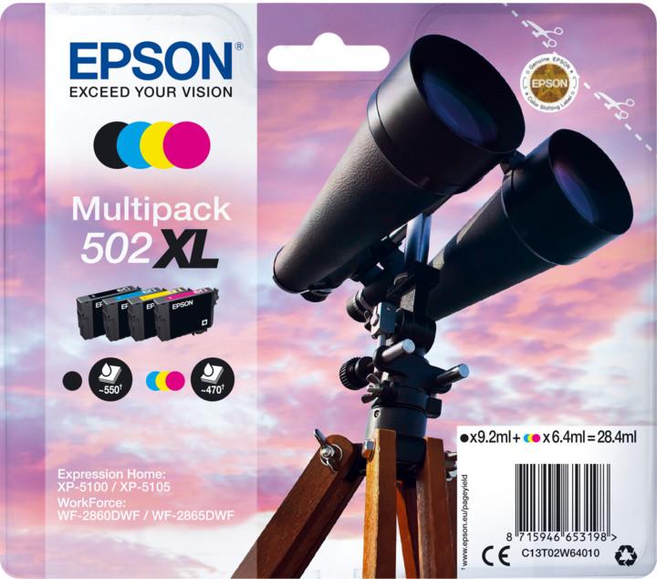 Epson C13T02W64010, XL multipack