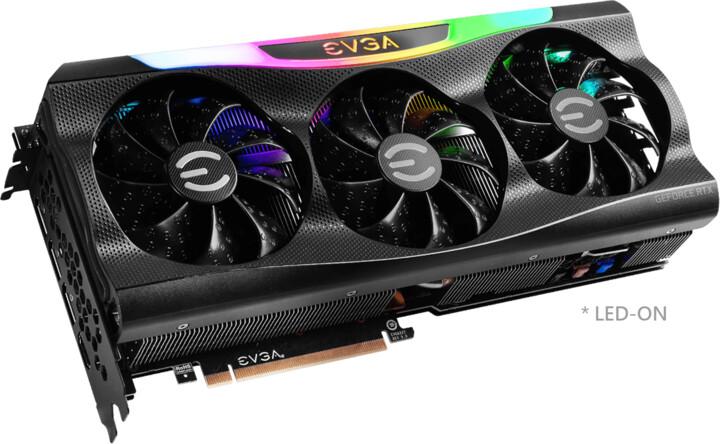 EVGA GeForce RTX 3070 FTW3 ULTRA GAMING, 8GB GDDR6