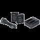 Rollei externí nabíječka pro kamery 550 Touch + 2x náhradní baterie