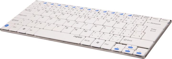 Rapoo E6100, bílá, CZ