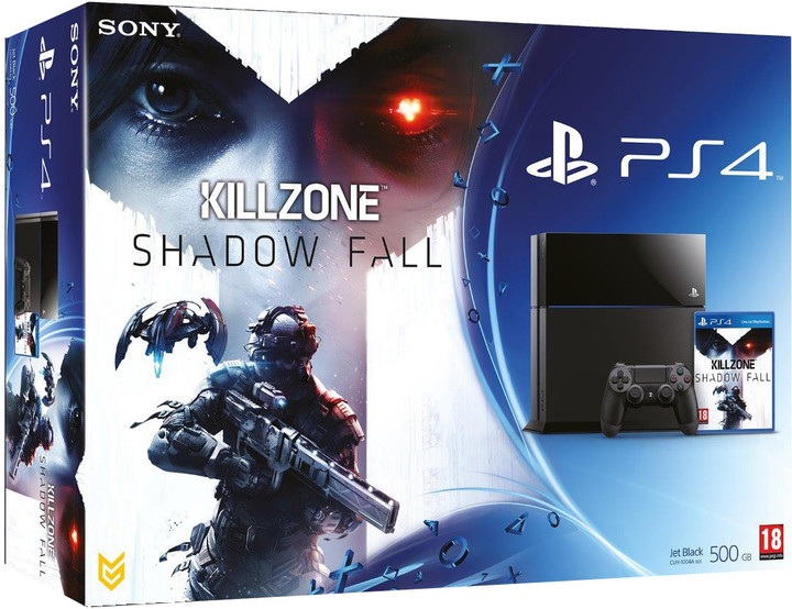 PlayStation 4 - 500GB + Killzone: Shadow Fall