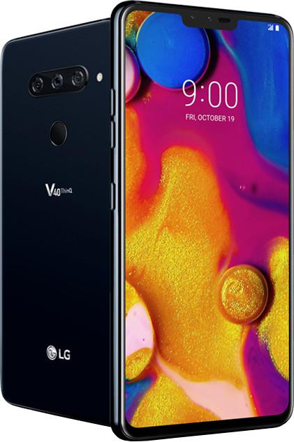 LG V40, 6GB/64GB, Moroccan Blue