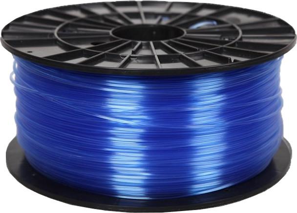 Filament PM tisková struna (filament), PETG, 1,75mm, 1kg, transparentní modrá
